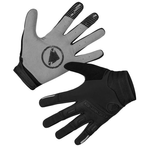 SingleTrack Windproof Gloves - Black