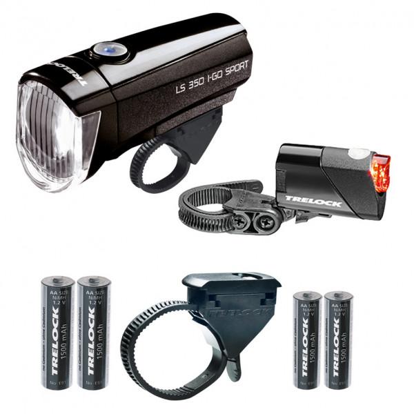 LS350 I-go Sport + LS710 Scheinwerfer Kombi-Set - schwarz