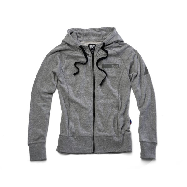 Journey Damen full-zip Hoodie - grau