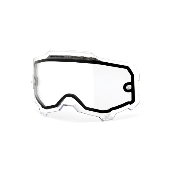 Armega Dual Panel Anti-Fog Replacement Lens - Clear
