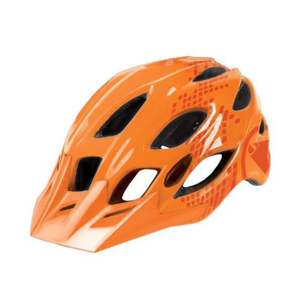 Singletrack II Helm - Orange