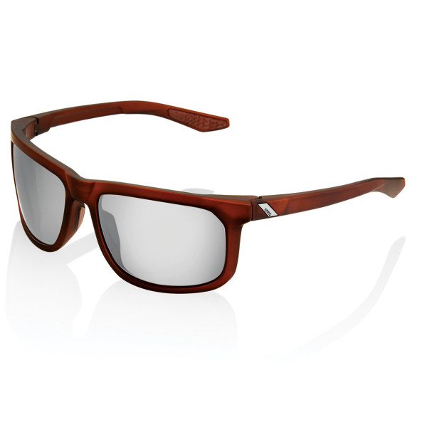 Hakan Hiper glasses mirrored - red