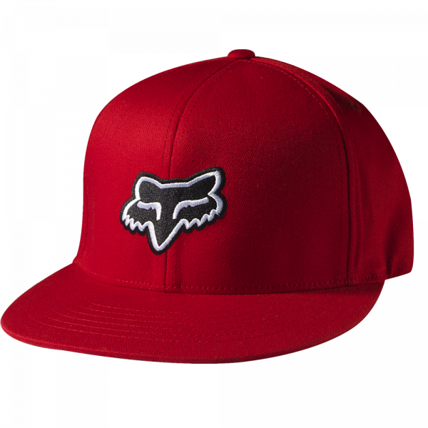 The Steez 210 Fitted Hat Red