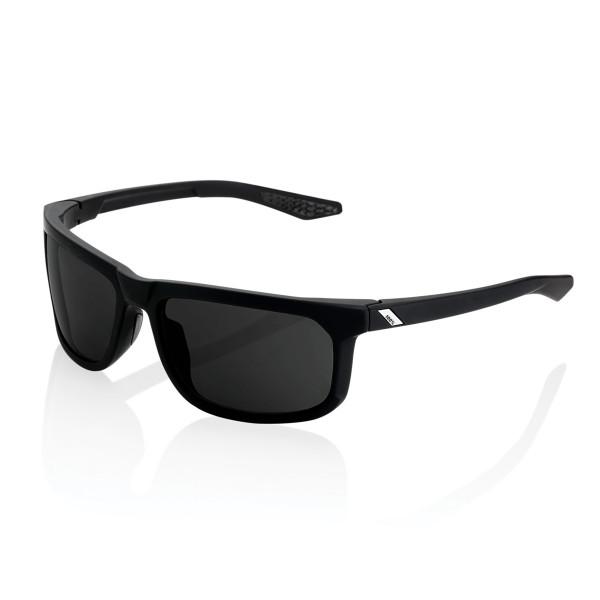 Hakan Peakpolar glasses mirrored - Black