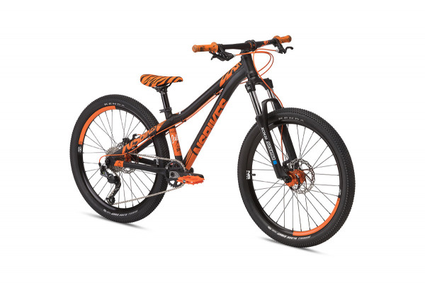 Clash Junior 24 Inch Funbike - Black / Orange