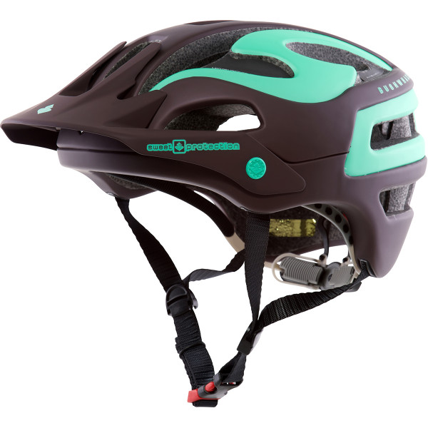 Bushwhacker Helm 2016 - Matt Ron Red/Mint Green