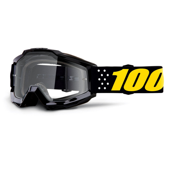 Accuri Goggle Anti Fog Clear Lens - Pistol